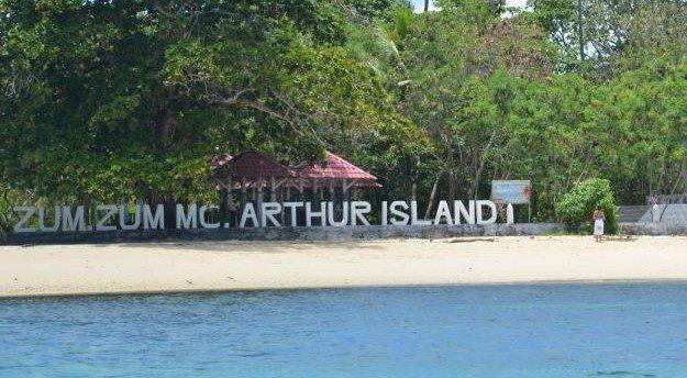 Objek atau Tempat Wisata Pulau Morotai Pulau Sumsum